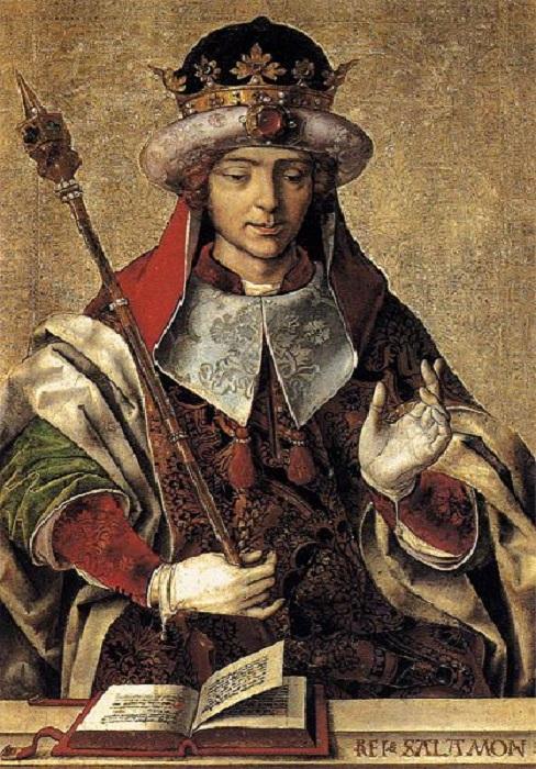 Соломон - третий еврейский царь, правитель объединённого Израильского царства.